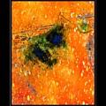 Jug In Black And Orange by Charles Muhle