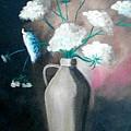 Jug Of Flowers by Dana DeCecco