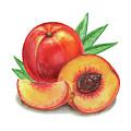 Juicy Peach by Irina Sztukowski