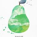 Juicy Pear by Linda Woods