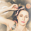 Jukebox Pin Up by Jorgo Photography - Wall Art Gallery