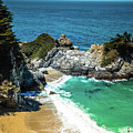 Julia Pfeiffer Burns State Park - Mcway Falls by Blake Webster