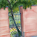 Juliette Low Garden Gate by Doris Blessington
