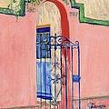 Juliette Low Garden Gate Savannah by Doris Blessington