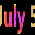 July 5 by Day Williams