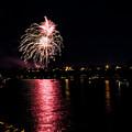 July Fireworks by Marcia Darby