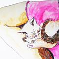 July Kitty In Rachaels Lap by CheyAnne Sexton