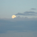 July Moon Rise by Ginger Repke