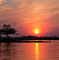 July Sunset At Detroit Point by Ron Wiltse