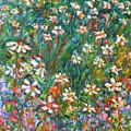 Jumbled Up Wildflowers by Kendall Kessler
