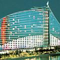 Jumeirah Beach Hotel by Jeelan Clark