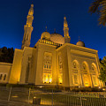 Jumeirah Mosque In Dubai, Uae by Ivan Batinic