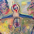 Jumping Jack The Artist  by Judith Desrosiers