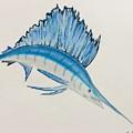 Jumping Swordfish  by Natalia Wallwork