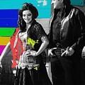 June Carter Cash Johnny Cash In Costume Old Tucson Arizona 1971-2008 by David Lee Guss