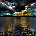 June Sunset On Nicks Lake by David Patterson