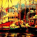 Juneau Boats by Brian Simons