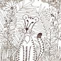 Jungle Cat by Emily Fotis