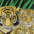 Jungle Cats by Alan Morrison