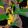 Jungle Dance IIi Of IIi by Anne Hamilton