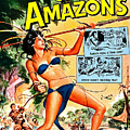 Jungle Movie Poster 1957 by Padre Art