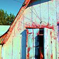 Junior's Barn Window by Jost Houk