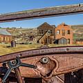 Junk Car Window View by Kelley King