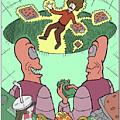 Junk Food Junkies by David Bromley