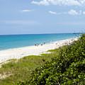 Juno Beach On The East Coast Of Florida by Allan  Hughes