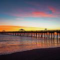 Juno Pier Colorful Sunrise by Ken Figurski