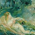 Jupiter And Callisto by Berthe Morisot