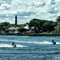 Jupiter Inlet And Lighthouse by Maria Keady