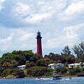Jupiter Inlet Florida by Allan  Hughes
