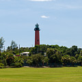 Jupiter Inlet Lighthouse by Allan  Hughes