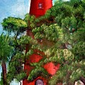 Jupiter Inlet Lighthouse by Darlene Green