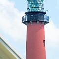 Jupiter Inlet Lighthouse by Gene Norris