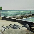 Jupiter Inlet Marine Marker One  by Harry McVay