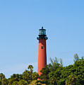 Jupiter Light In Florida by Allan  Hughes