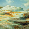 Jupiter Terrace  Yellowstone by Thomas Moran