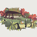 Jurassic Car by Corsac Illustration