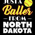 Just A Baller From North Dakota by Kaylin Watchorn