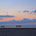 Just Before Sunrise In Asbury Park by Bill Cannon