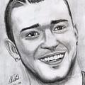 Justing Timberlake Portrait by Alban Dizdari