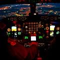 K C - 135 Stratotanker Cockpit by Mountain Dreams