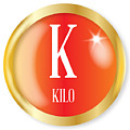 K For Kilo by Bigalbaloo Stock