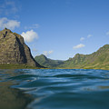 Kaaawa Valley From Ocean by Dana Edmunds - Printscapes