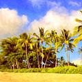 Kaanapali Beach Maui by Dominic Piperata