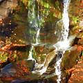 Cascading Water by Jeelan Clark