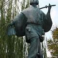 Kabuki Dancer Statue In Kyoto by Carol Groenen
