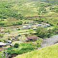 Kahakuloa Village Maui Hawaii by Sharon Mau